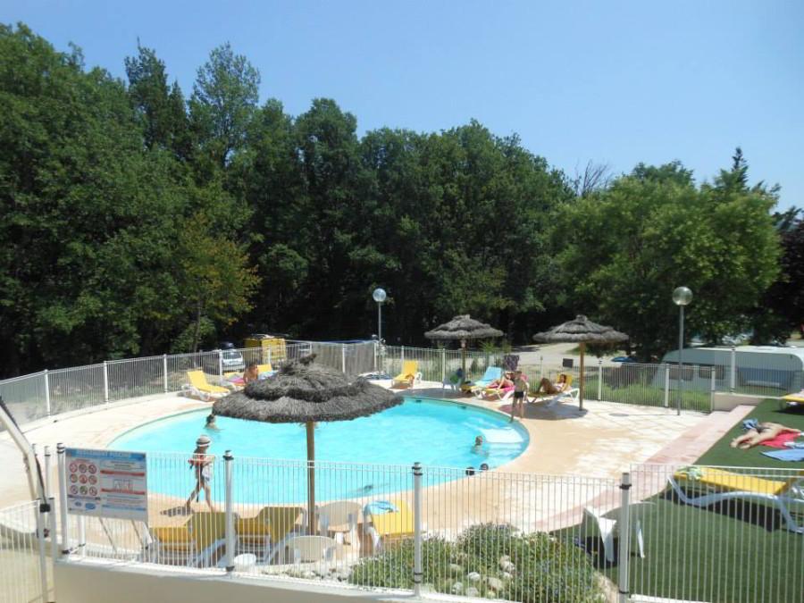camping bauduen piscine