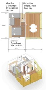 plan tithome location chalet discount verdon