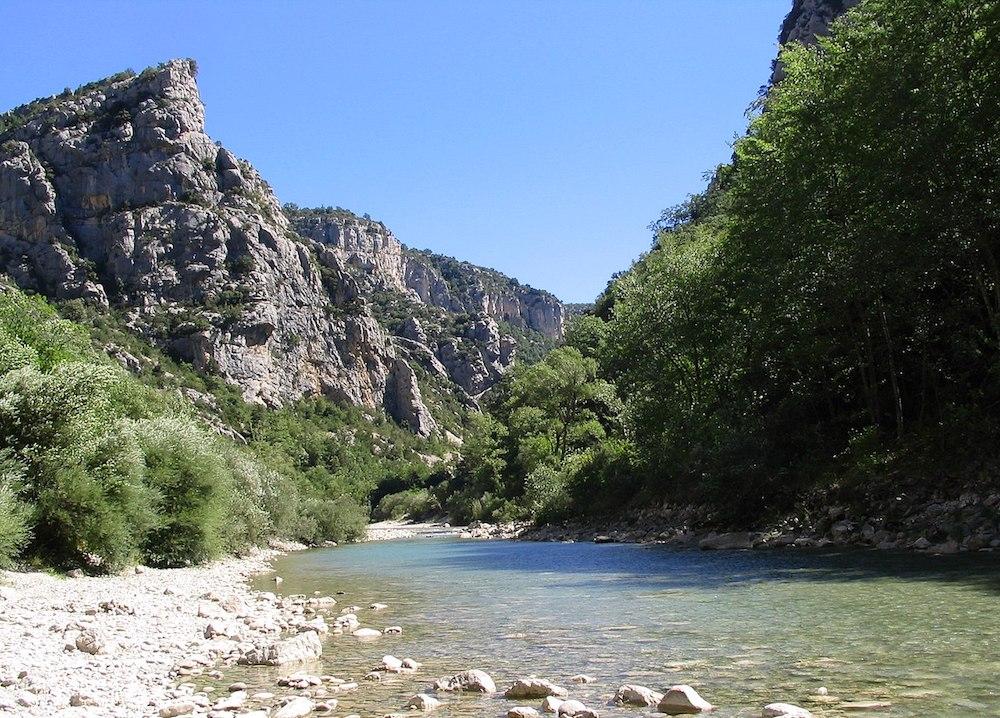 rivière verdon