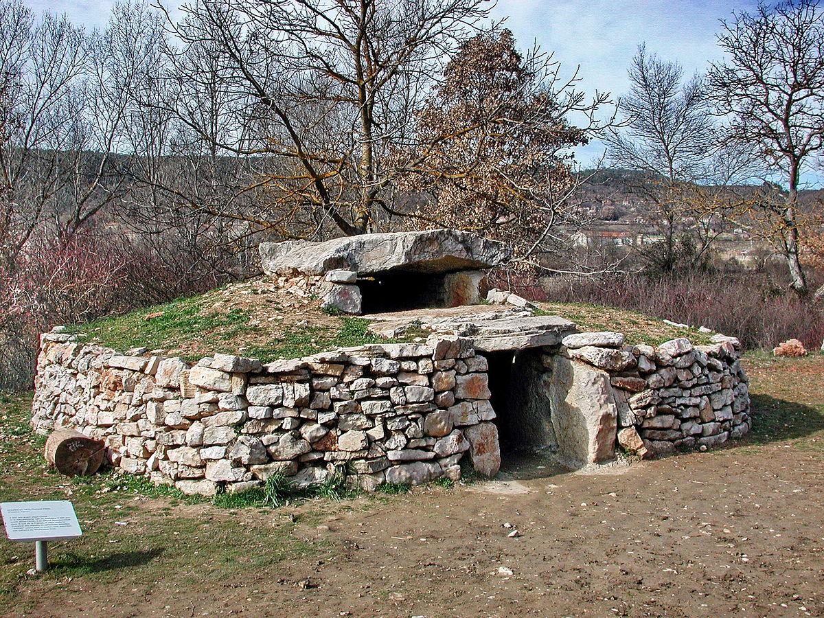 village prehistorique de quinson verdon