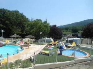camping dans le 83 avec piscine gorges du verdon bauduen