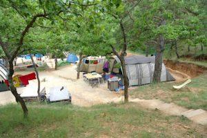 camping dans le verdon bauduen