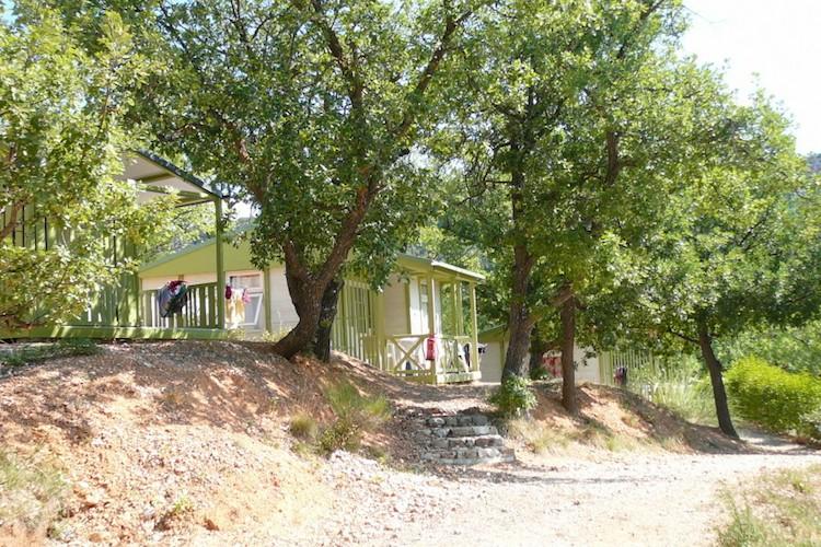 Location de chalet verdon pour 6 personnes camping aux for Location maison avec piscine gorges du verdon