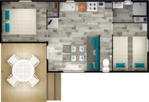 plan mobil home verdon