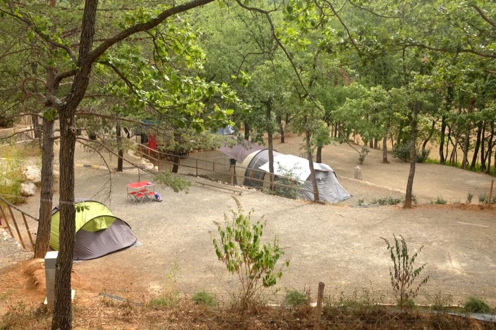 Emplacement camping gorges du verdon lac sainte croix aux vallons - Camping lac st croix avec piscine ...