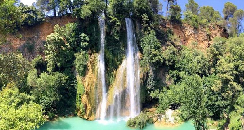 Cascade de sillans-Provence